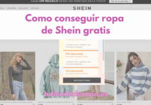 Como conseguir ropa de Shein gratis sin ser influencer