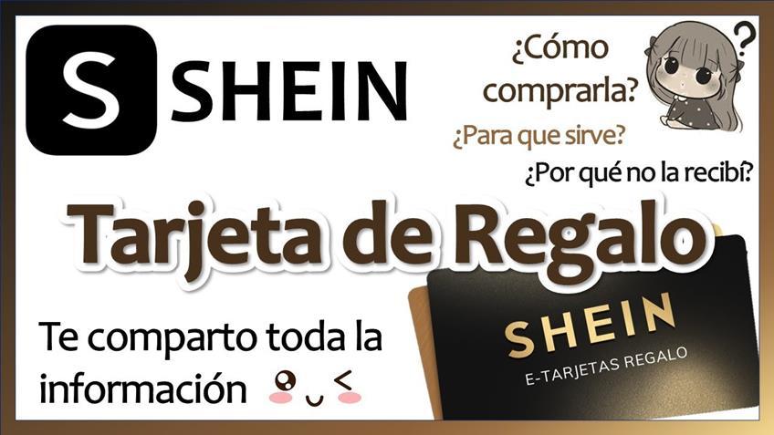 ¿Cómo conseguir tarjeta regalo Shein?